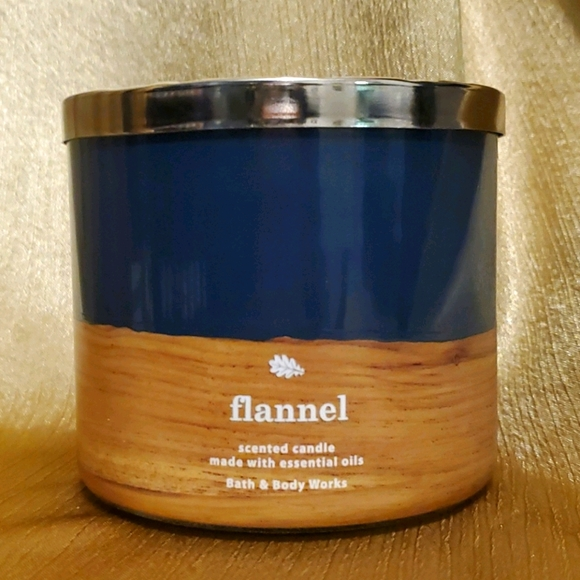 Flannel BBW Candle